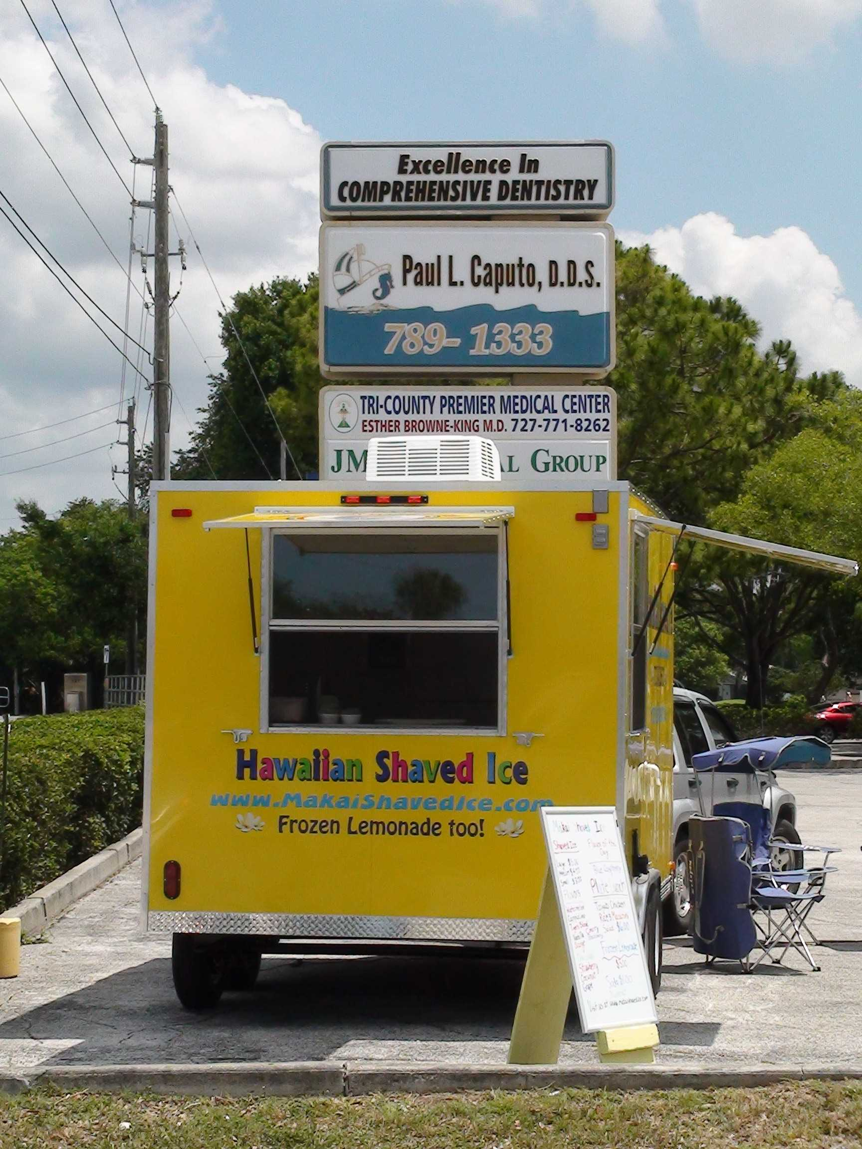 Makai Shaved Ice In Palm Harbor Florida Dr Caputo